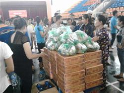 Cứu trợ bà con bị lũ lụt tại Cẩm Phả, Mông Dương - Quảng Ninh ngày 30/07/2015