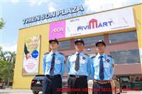 Hình ảnh bảo vệ hệ thống siêu thị, nhà hàng cao cấp, trung tâm thương mại