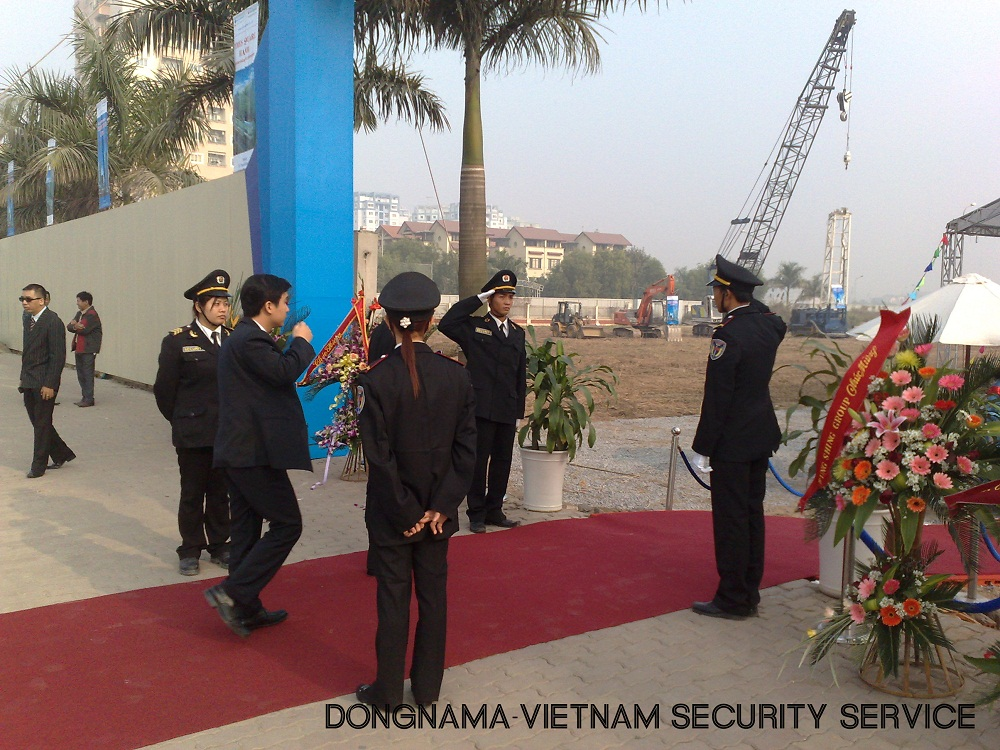 Dịch vụ bảo vệ an ninh sự kiện